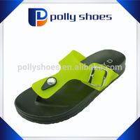 PVC PCU women soft comfortable flip flop slipper wholesale