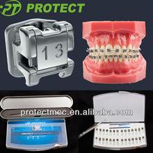 Dental orthodontic self-ligating bracket with CE/FDA/ISO13485 Certificate