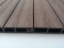 NEW waterproof anti-UV wall panels/wood plastic composite material/exterior timber cladding