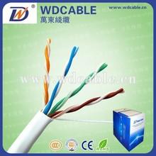 Outdoor 4P*2*0.50mm LSZH communication cable UTP cat5e 305M/ROLL