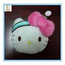 nice kitty cat plush toy animal shape plush wallet