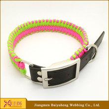 making dog collar,glow in the dark dog collar