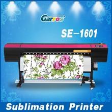 Hot Sales SE1601 non woven fabric printer for 100% polyester fabrics
