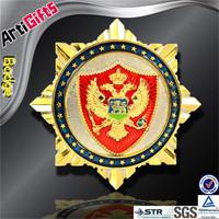 Factory direct sale metal russian military pin badge