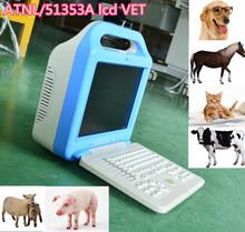 Venta caliente portatil de ultrasonido veterinario precio de la maquina