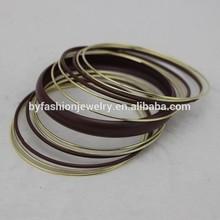 Delgada de metal ssangyong istana yiwu pulseras de los brazaletes