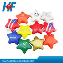 2013 promotional PU star shape cheap stress ball