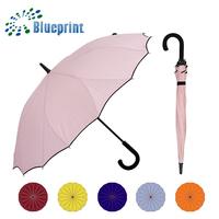 Promotion Modern Lady 16k Ribs Unique Lotus Stick Umbrella To Buy