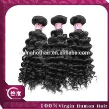 Virgin Hair Manufacturer 100% Virgin Peruvian Deep Wave Hair Unprocessed Hair