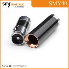 2014 hot selling e cigarette mod Smy latest design 40watt mod SMY40 MOD with carbon fiber