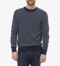 Latest Men Pullover Stripe Wool Cashmere Sweater