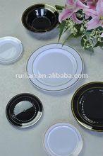 7.5'' plastic salad plates