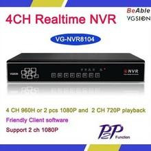 ONVIF 4CH/8CH/16CH CCTV,HD 720P Recording,4ch 1080p nvr
