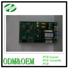 DIP/SMT Assembly High tech double sided v-cut pcb manufacturer