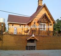 waterproof wooden house log cabin