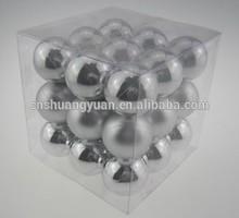 Popular Plastic Christmas Ball for Tree Hanging