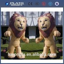 Huge PVC animal,inflatable lion