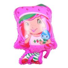 New Style Kid Toy DIY New Design 3D Manufacturers Selling Custom Pretty Little Girl Balloons Wholesale Cartoon Aluminium Balloon