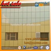 aluminum composite panel line aluminum composite panel philippines haida brand high quality construction materials pvdf coated a