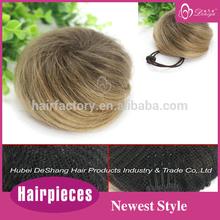Deniya drawstring synthetic hair fake chignon