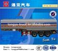 الصين الصانع مقطورة المحاور 3 الوقود الأكثر مبيعا ctac/ مقطورة شاحنة نقل النفط للدبابات