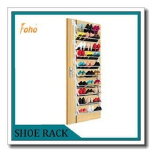 10 layers easy to install back of door shoe rack hanging FH-SR005810