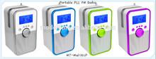 New Portable tf card,usb, fm radio bluetooth mini speaker