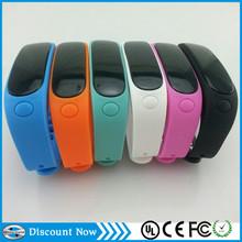 promotion support IOS APP best waterproof swimming wear smart bracelet watch