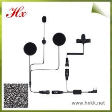 motorcycle/bicycle helmet kits motorcycle headset walkie talkie