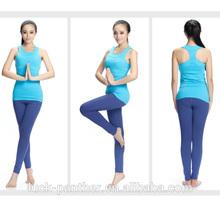 Womens sublimation sexy plain gym/yoga/jogger tank top
