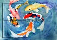Fish Watercolor (Aquarelle) Painting for Wholesale