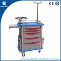 Bt-ey001 2014 de lujo 5 drawes médica de emergencia cesta totalmente equipada
