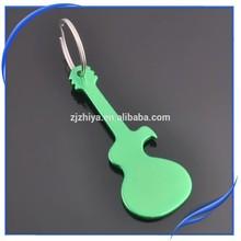 Aluminum Alloy Guitar Bottle Opener Keyring