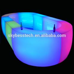 Luxury restaurant LED bar counter tops/modern table bar