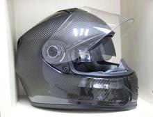 carbon fiber helmet, two visors full face helmet, motobike helmet