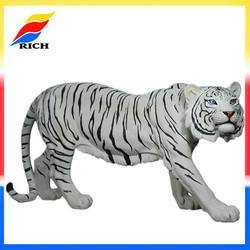 custom design figurine home decor resin tiger statue