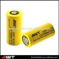 Alta qualidade awt 18350 3.7v li-ion bateria recarregável 18350 700 mah bateria 110v bateria recarregável