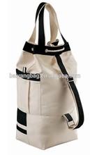 Promotional Canvas Drawstring Tote bag travel backpack cotton bag duffle bag