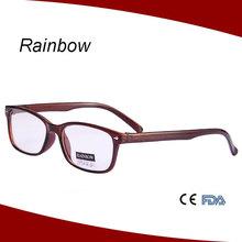 stile frame nuovo 2015 wenzhou vendita calda occhiali di plastica