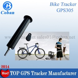 GPS tracker bike to track and safeguard bike with the GPS tracker hidden in the bike, patented design