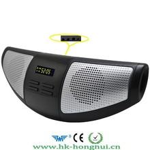 portable mini usb speaker speaker Stereo Music MP3 Player Loudspeaker Multi-color LED light