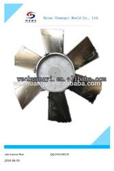 High Precision die casting of 760mm dia FAN aluminum die casting