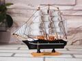 20cm de madeira em miniatura escala náutico navio modelo kits