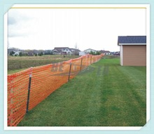 Made in China Orange HDPE Plastic Welded Wire Mesh Fence Netting