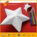 Artesanato branco isopor estrela, Decoração de natal, Bola de natal
