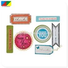 3d sticker embellishment for handmade cards