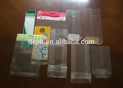 High Transparent sandwich Plastic BOPP Header Bags