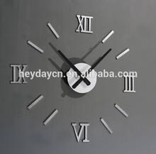 3D DIY EVA wall clock for wholesale(HJ-830)