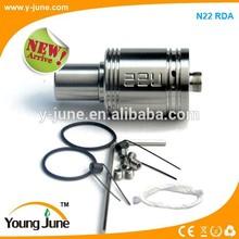 2014 High quality ecig mod atomizer rebuildable atomizer rda N22 rda/N22 rda clone/Region rda atomizer in wholesale