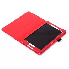 Auto Wake /Sleep Function 8 inch Stand Tablet Leather Cover Case for Sony Z3 Tablet Compact